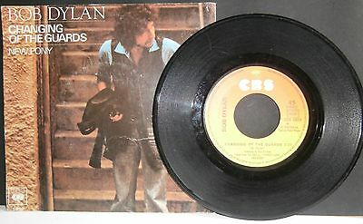 Bob Dylan - Changing Of The Guards - 7'' + Ps - France/holland