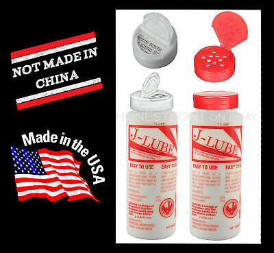 JLube J-Lube Powder Lubricant Lube Authentic MADE in USA -