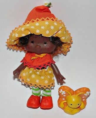 Emily Erdbeer Orange Blossom Strawberry Shortcake Puppe Doll 80er 90er Jahre a