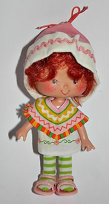Emily Erdbeer Cafe Ole Strawberry Shortcake Puppe Doll 80er 90er Jahre Vintage a