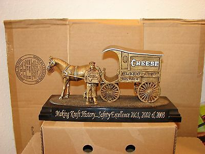 Kraft used Making Kraft History Safety Excellence 2001, 2002, & 2003 Horse Wagon