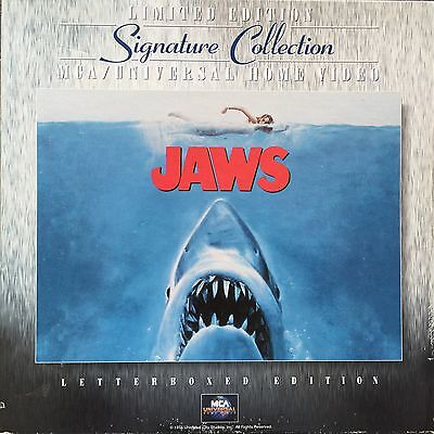 Laserdisc - Ntsc - Jaws - Limited Edition - Signature Collection