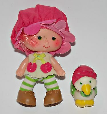 Emily Erdbeer Cherry Cuddler Goose Strawberry Shortcake Puppe Doll 90er Jahre a