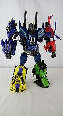 Transformers Microblaze Creations Military Titans Bruticus fall of Cybertron