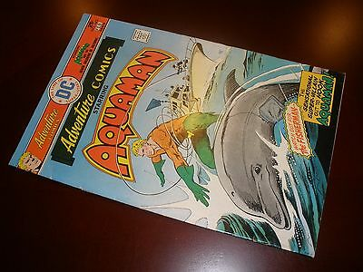 DC Comics Adventure Comics # 443 Nice Copy Aquaman
