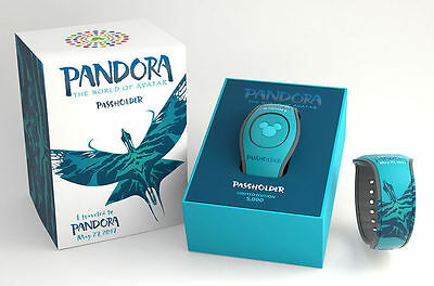 Disney Pandora World Of Avatar Magicband 2 Magic Band Passholder Teal LE 5000