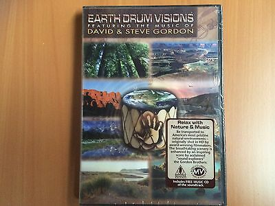 Earth Drum Visions featuring David & Steve Gordon - DVD &CD