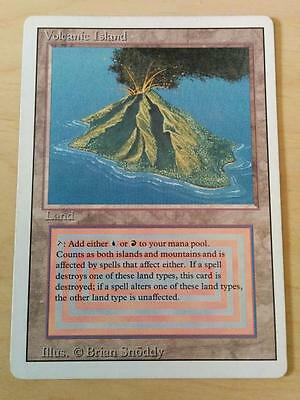 MTG Revised Rare *Volcanic Island* LP Condition