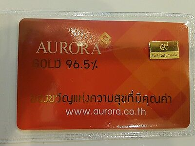 Thai Gold Bar - 1 Gram - High Quality - 96.5%