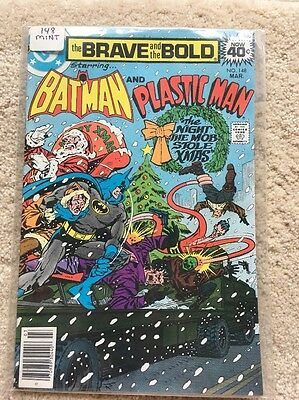 The Brave and the Bold #148 (Mar 1979, DC) High Grade! NM-!   Batman Plastic Man