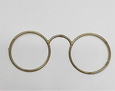 Pince-nez spectacles Glasses Frame Halloween Costume Access Steampunk Victorian