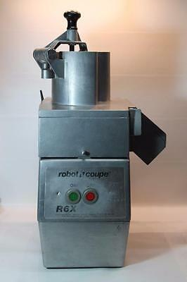 Robot Coupe R6X Food Prep Processor Machine with Blades