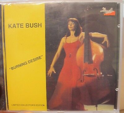 Kate Bush - Rare Cd Promo Collector's Ed 1989  Burning Desire  Nm- Condition