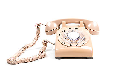 Meticulously Refurbished & Restored Western Electric Rotary Dial Phone - Blush