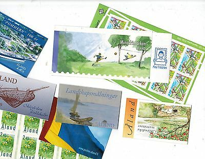 Aland Islands: Booklets etc, $120 CV Mint NH