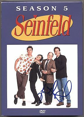 JASON ALEXANDER SEINFELD AUTOGRAPHED DVD SEASON 5 ORIGINAL PHOTO PROOF COA Jerry