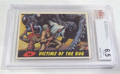 1962 Mars Attacks Victims of the Bug Card # 38 BVG 6.5 EX MT+