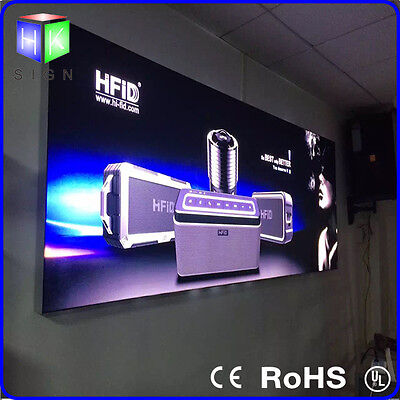 A1 led Aluminum Frame 3p Fabric LED display Light Box for led sign