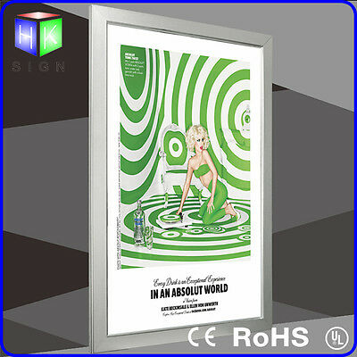 Aluminum LED Light Box and Frame for Picture