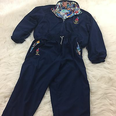 Olympic Games Collection by Speedo VTG 1996 Atlanta Tracksuit MEDIUM REVERSABLE