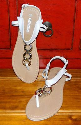 VINTAGE Dexim Princess Chic Resort Glam Breezy Sandals Size 33