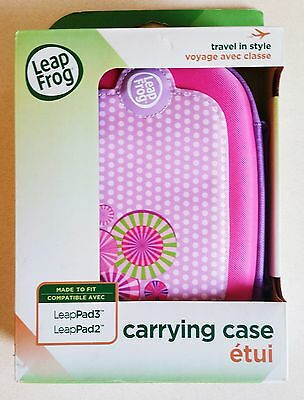 LeapFrog Leappad 3 Pink/Purple Carry Case Mae to Fit LeapPad 2 & 3 Travel Case