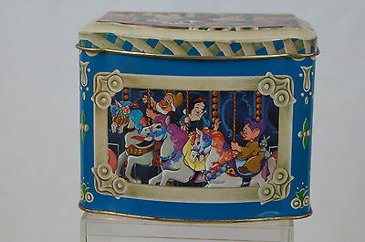 Disney Candy Tin Disney World 1985 Made in England Haunted Mansion