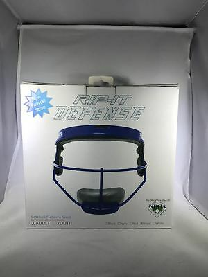 Adult Softball Fielder's Mask - Rip-It Defense - Royal