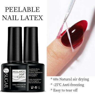 Born Pretty Nail Art Latex Peel Off Liquid Tape Nail Polish Base Coat Manicure