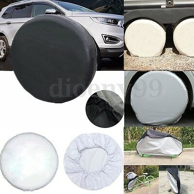 AU Different Sizes Spare Tire Cover Car Tyre Diameter Weather Resistant Wheel