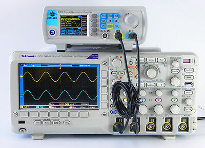 30MHZ DDS Dual Channel Waveform Signal Generator Frequency Meter Signal Source