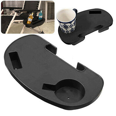 Folding Chair Side Cup Gravity Tray Camping For Cigarett Phone Bottle Holder New
