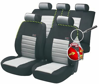 Sport Speed car seat cover - Black & Grey For Seat LEON 1999 to 2006