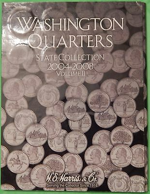 2004-2008 US (25P and 25D Marks) Statehood Quarters Including Collector Card