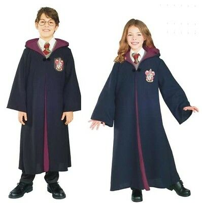 Harry Potter - Costume - Child - Gryffindor Robe - Deluxe - Small - Size 4-6