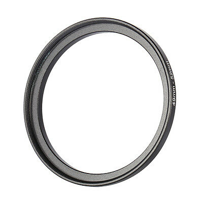 Step Up Rings Metal Lens Adapter Filter Ring 49-52 Black 49mm 49mm-52mm To 52mm