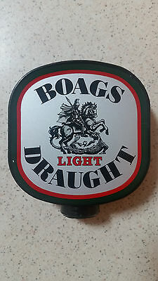 Boags Draught Light Beer Tap Handle / Top