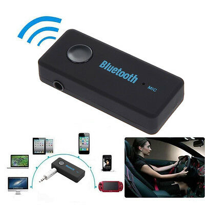 Auto Bluetooth 4.1 Wireless AUX IN Empfänger Adapter Dongle Musik Audio Stereo