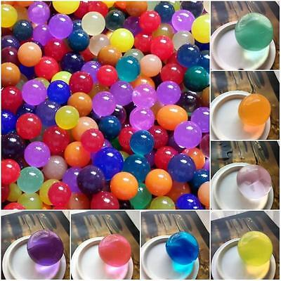 50pcs/set Crystal Soils Magic Large Big Ball Water Beads Gel Ball Wedding Decors