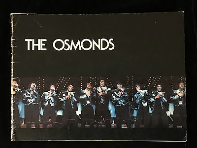 The Osmonds 1976 Tour Concert Program Book