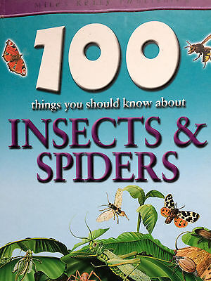100 THINGS YOU SHOULD KNOW ABOUT INSECTS AND SPIDERS children's science book