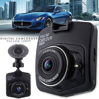 12MP 1080P HD Car DVR Camera Dash Cam Video Recorder G-sensor Night Vision Black