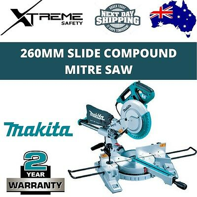NEW Makita 1430W Slide Compound Mitre Saw Laser Marker 260mm 10″