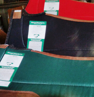 Diamond Wool Saddle Pad Endurance Fender Cross Breed Western Horse Saddle Pad