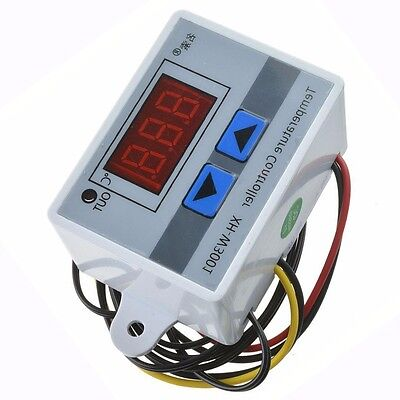 Digital LED Temperature Controller Thermostat Control Switch NTC 10K Probe 220V