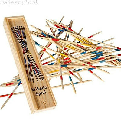 Mikado Pick Up Sticks Giant Goki Wooden Indoor Outdoor Family Game Jackstraws