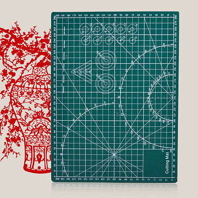 A4 Cutting Mat Self Healing Printed Grid Lines Knife Board Craft Model 30x22cm