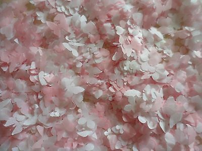 3000+ Pink and White Mixed, Heart.Wedding Confetti/Party/Decoration 8 Cones/Bio
