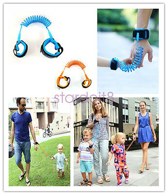 Kids Baby Safety Harness Toddler Hand Belt Walking Strap Anti Lost Wrist Band UK