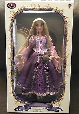 "Disney Store Limited Edition Tangle Purple Rapunzel Doll 17"" LE #555 - Brand New"